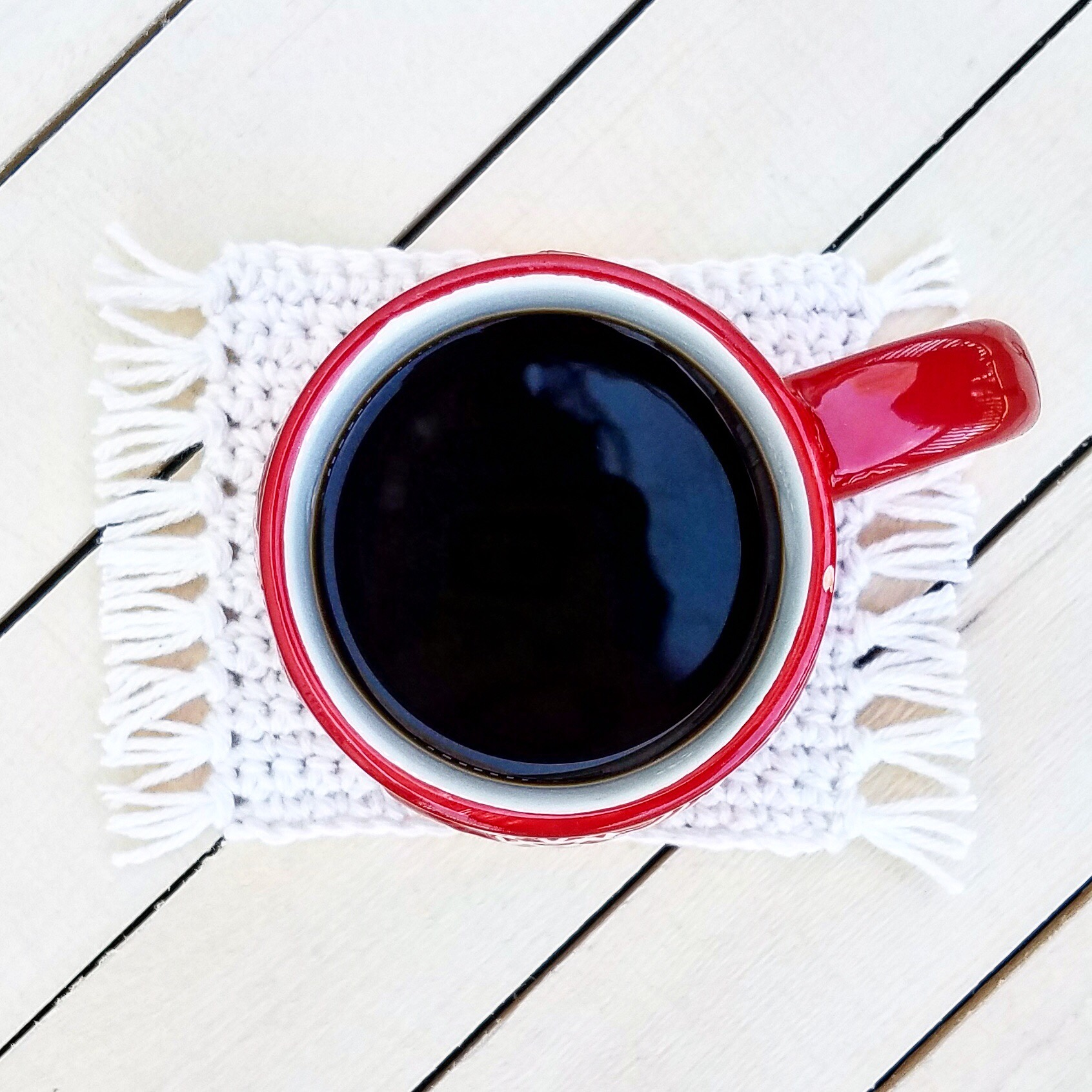 The Mug Rug Pattern By Carpe Lana Southern Day Crochet